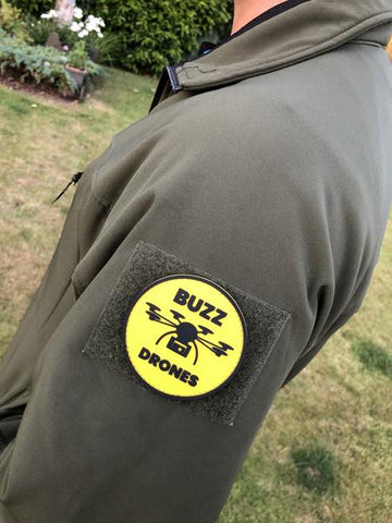 Buzz Drones PVC Patch