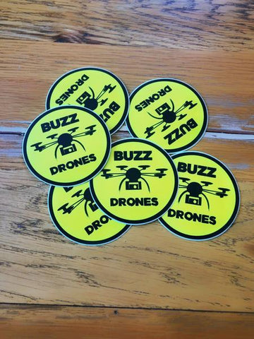 Buzz Drones Sticker