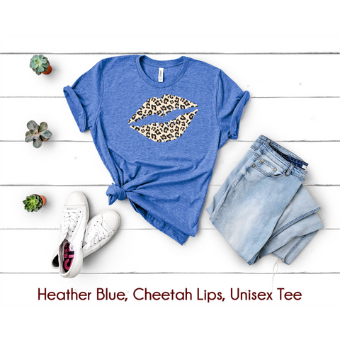 Cheetah Lips Tee