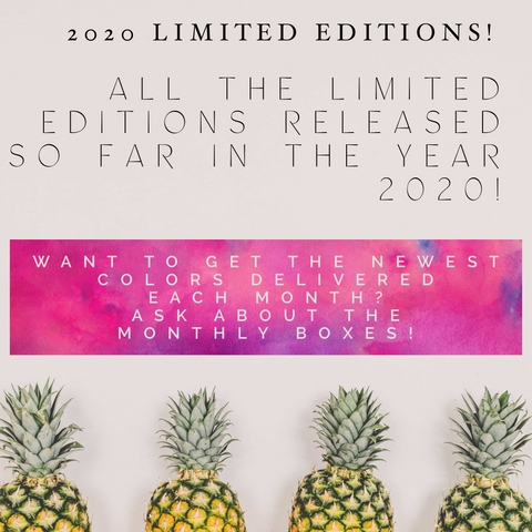 2020 Limited Edition circle stickers