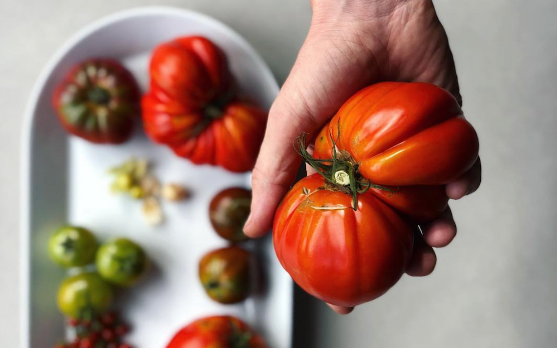 Eat August: Heirloom Tomatoes