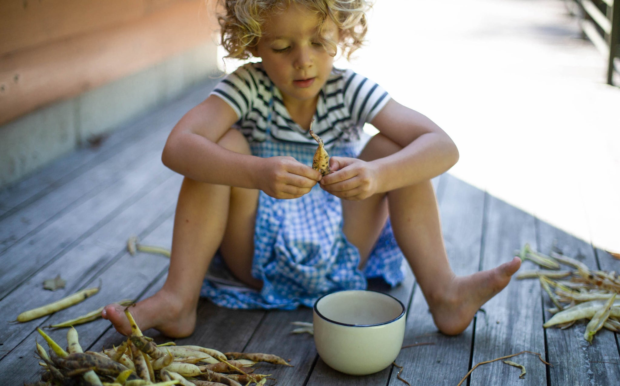 Eat September: Shelling beans