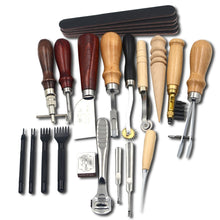 18pcs/set -  Tools to work on Leather
