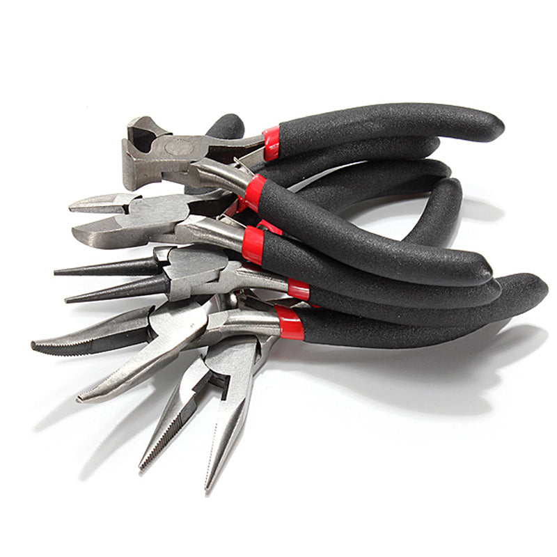 5 Pcs of different clamps stainless tools