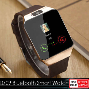 Bluetooth Smart Watch : SIM Phone Calls, and TF Camera for IOS, iPhones, Samsung, HUAWEI VS Y1 Q18