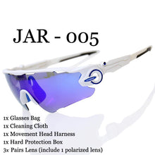 Polarized Cycling Sunglasses for Road and Mountain Biking And Come With Three Different Lenses
