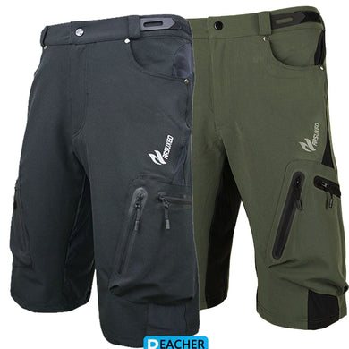 Men's and Women's half-Length Cycling, Mountain Biking or Running Pants