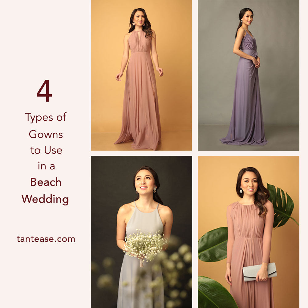 4 Types of Gowns to Use at a Beach Wedding