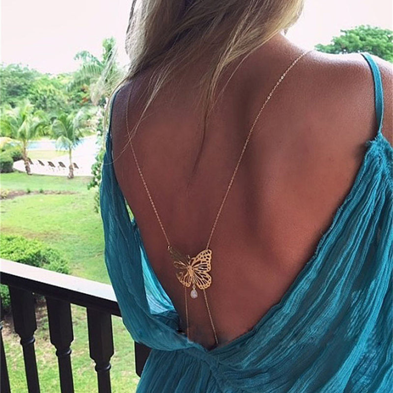 Charming Butterfly Body Chains