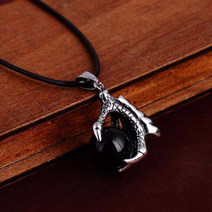 Black Onyx Dragon Claw Necklaces