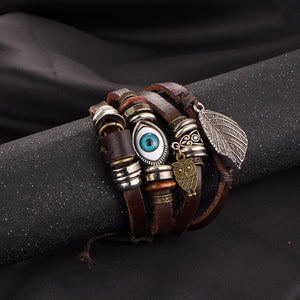 Punk Design Turkish Eye Bracelet