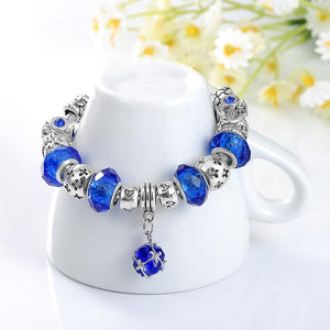 Antique Fit Charm Bracelet