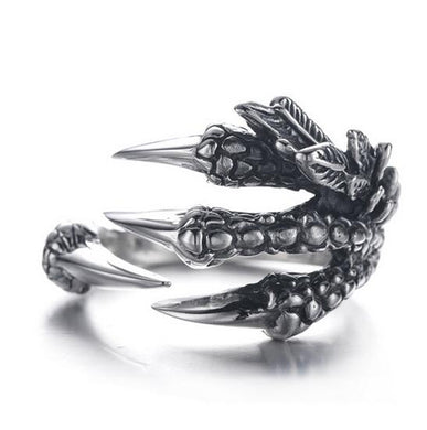 Mythical Dragon Claw Ring