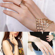 Fish Scales Finger Hand Chain Bracelet
