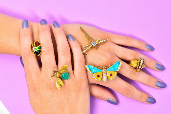 Butterflies, Bees & Bugs - Bright & Beautiful Fine Jewelry