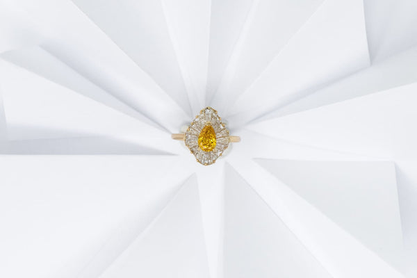 The Yellow Variety of April's Birthstone, Diamond