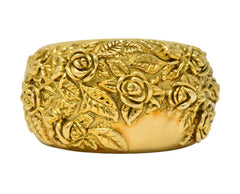 Carrera Y Carrera 18 Karat Gold Garden Of Roses Ring