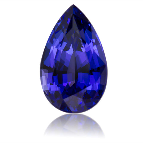 Faceted Mixed Pear Cut Tanzanite Zoisite Gemstone December Birthstone Jewelry