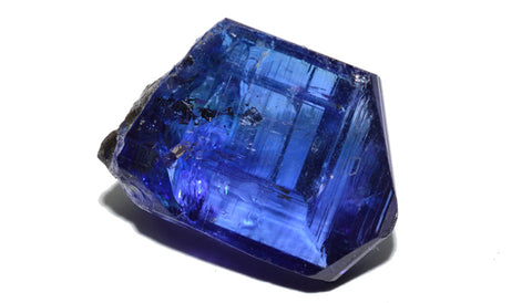 What Is Tanzanite? A Unique Pleochroic Gem Found In One Place Only. Rough
