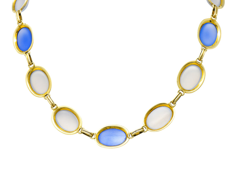 Mid-Century 2.54 CTW Diamond Platinum Engagement Ring GIA Circa 1950 - Wilson's Estate Jewelry