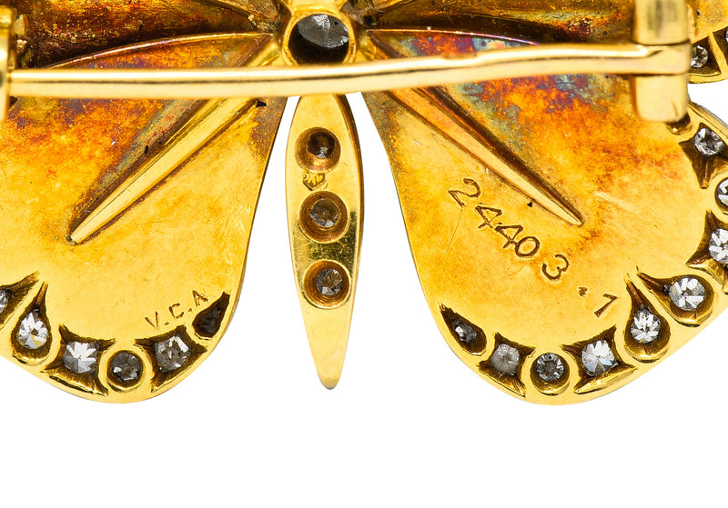 Art Deco 0.40 CTW Diamond Platinum Heart Filigree Dinner Ring - Wilson's Estate Jewelry