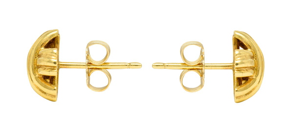 Tiffany & Co. 18 Karat Gold Signature X Stud Earrings