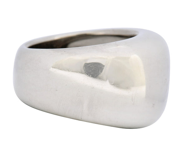 Cartier Vintage 18 Karat White Gold Nouvelle Band Ring