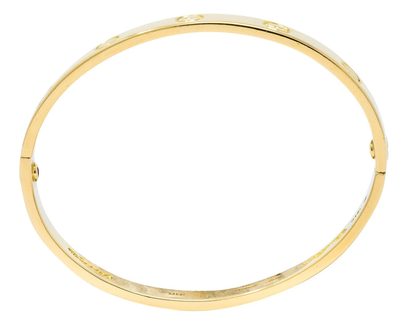 Cartier Aldo Cipullo 1970 Rose Gold 18 Karat Love Bangle bracelet