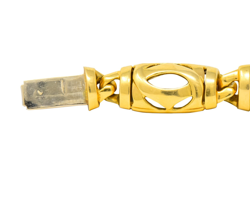Cartier French 18 Karat Gold Link Bracelet - Wilson's Estate Jewelry