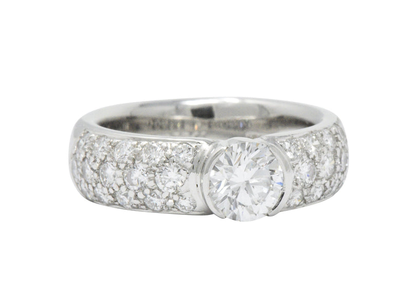 Tiffany & Co. 1.48 CTW Diamond And Platinum Engagement Ring GIA - Wilson's Estate Jewelry