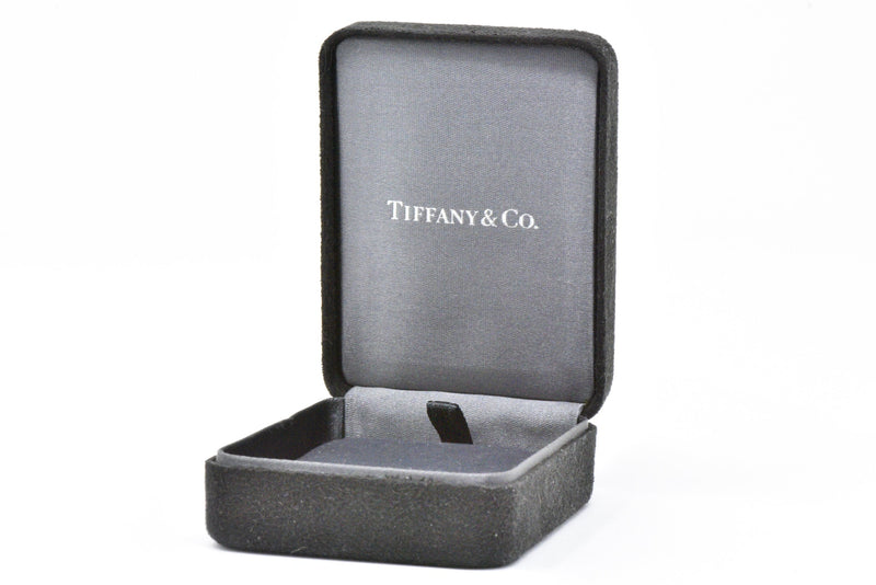 Tiffany & Co. .46Ctw Diamond & Platinum Stud Earrings Elsa Peretti Earrings