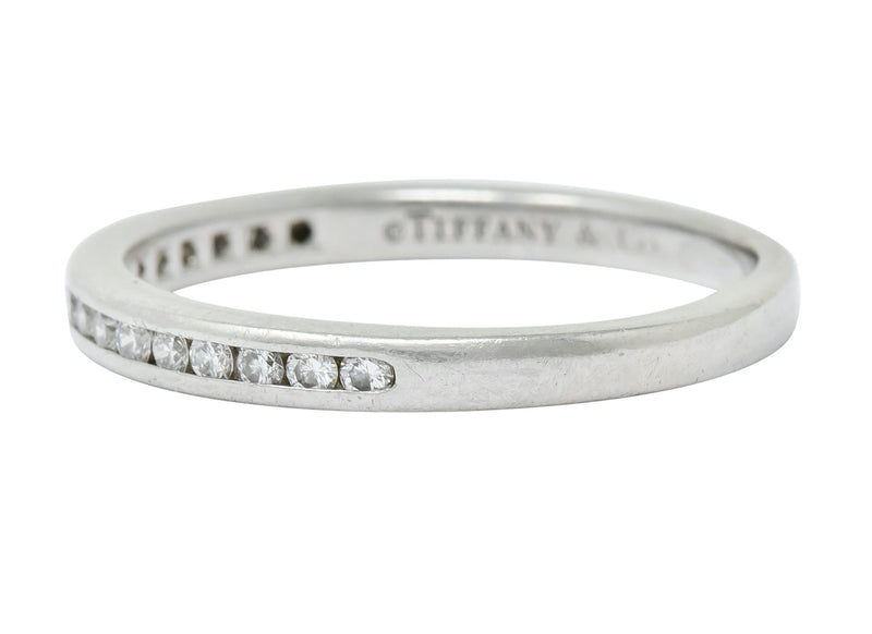 Tiffany & Co. Vintage Diamond Anniversary Stacking Band Ring - Wilson's Estate Jewelry