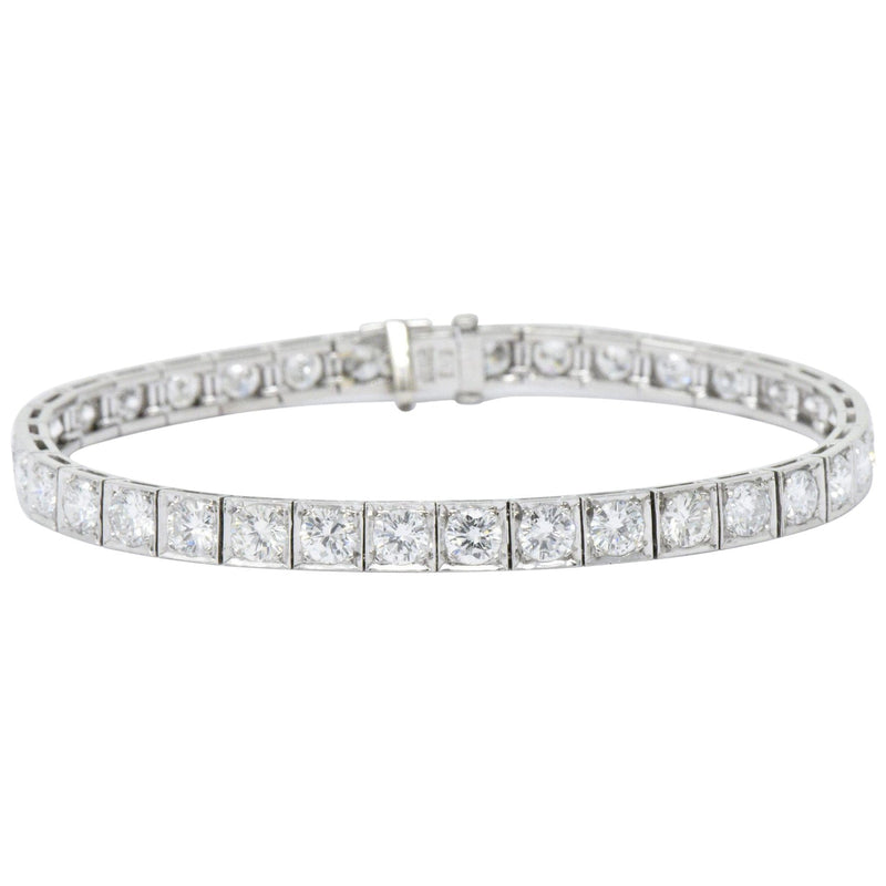 Waslikoff 7.20 Carat Diamond & Platinum Line Tennis Bracelet bracelet out-of-stock