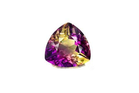 Amethyst Citrine Quartz Gemstone Antique Jewelry