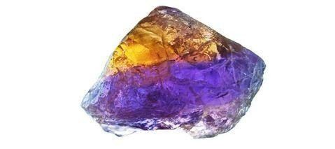 Ametrine Quartz Bi-Colored Gemstone Jewelry