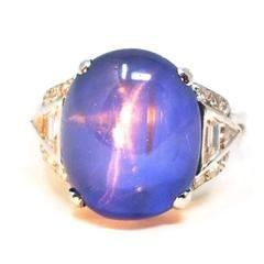 The history of Art Deco Jewelry Star sapphire ring