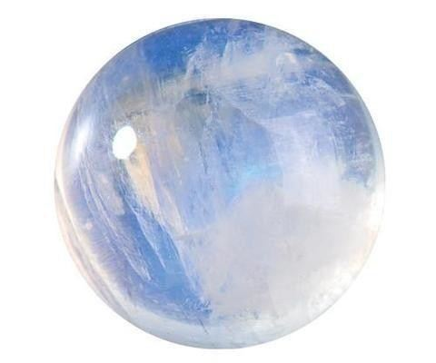 Round Moonstone Cabochon Billowing Adularescence Gemstone Jewelry