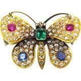 History of Victorian Jewelry Victoria butterfly