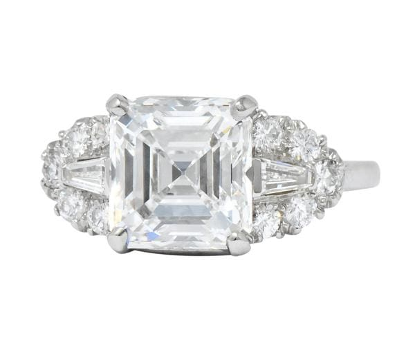 Bailey Banks and biddle antique engagement ring
