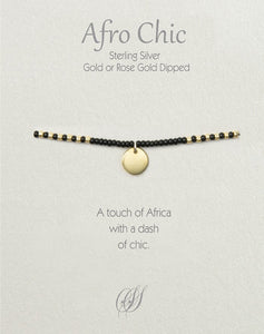 Afro-Chic - Black, gold