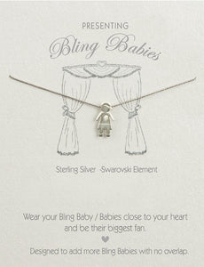 Bling Babies Boy Necklace