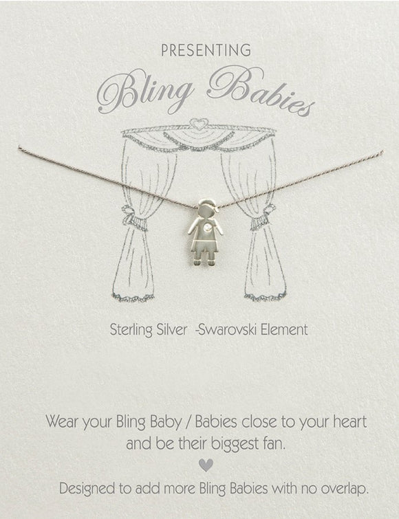 Bling Babies Boy Necklace - Special offer