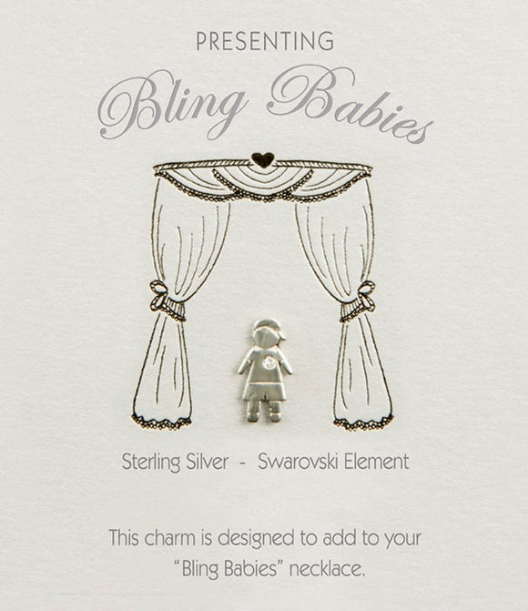 Bling Babies Boy Charm - Special offer