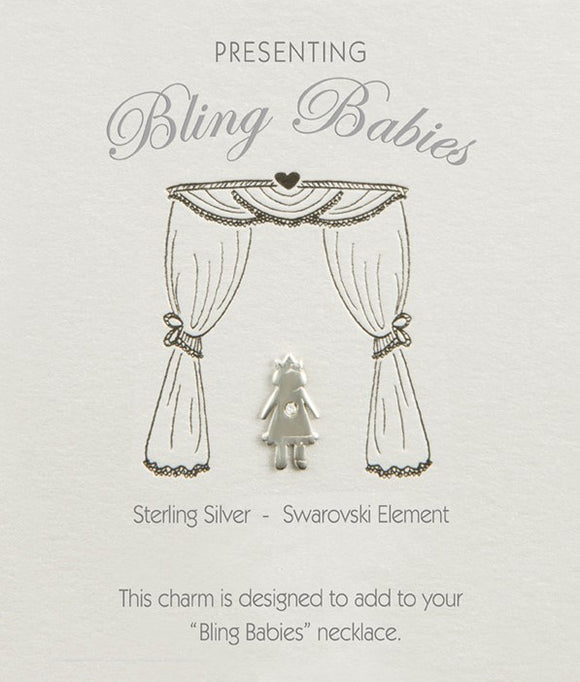Bling Babies Girl Charm - Special offer