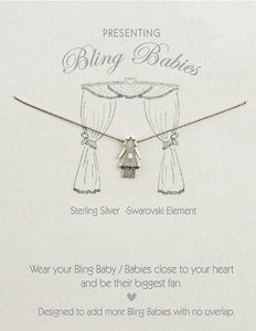 Bling Babies Girl Necklace