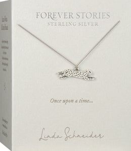 Forever Stories Cheetah necklace