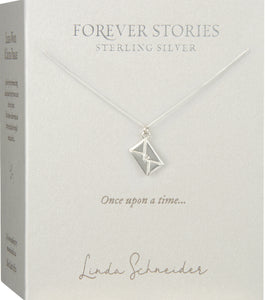 Forever Stories Envelope necklace