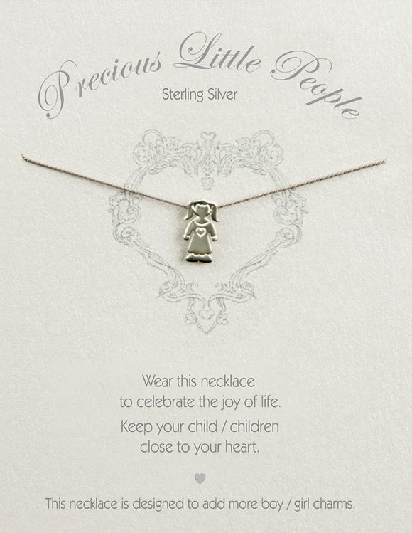 Precious Little People Girl Necklace