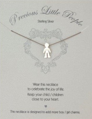 Precious Little People Boy Necklace