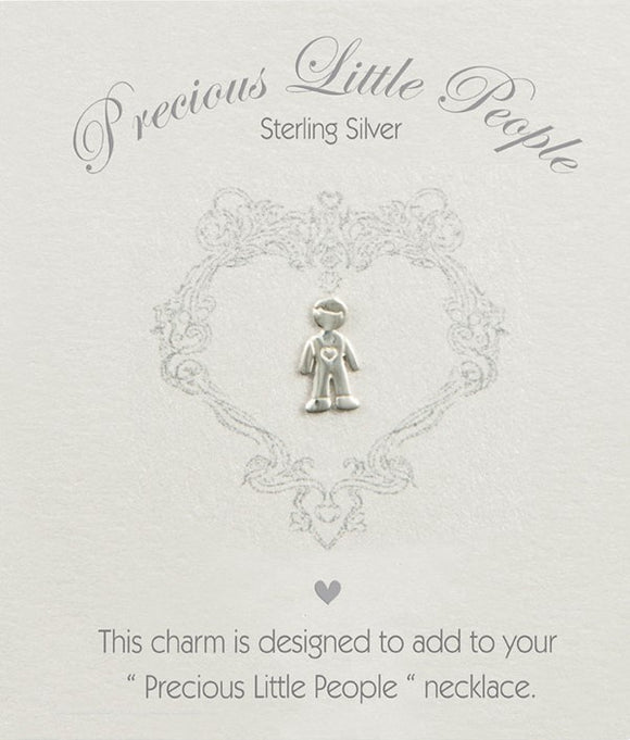 Precious Little People Boy Charm